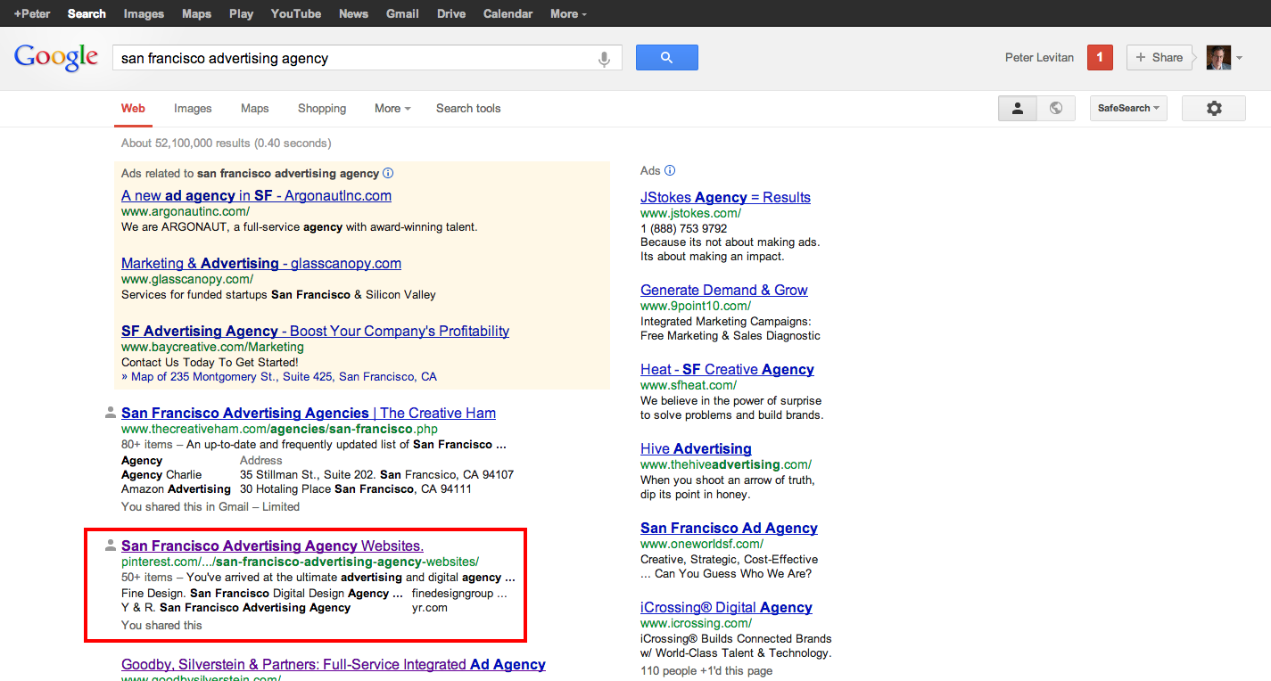 Seo me and advertising new business or how to beat out for San francisco advertising agencies
