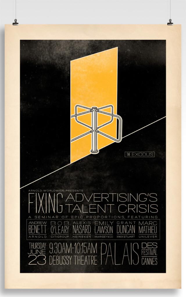 arnold fixing advertising talent crises