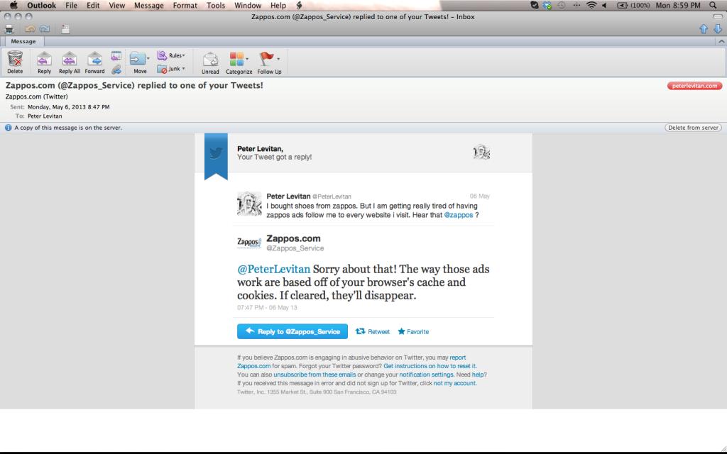 Zappos Screen shot 2013-05-06 at 8.59.30 PM
