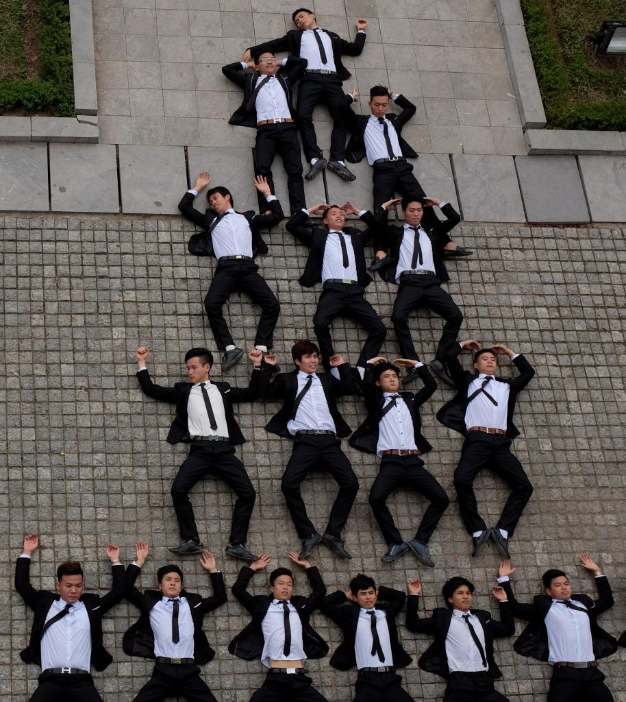 Boys graduation