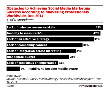When Will the Social Struggles Stop eMarketer