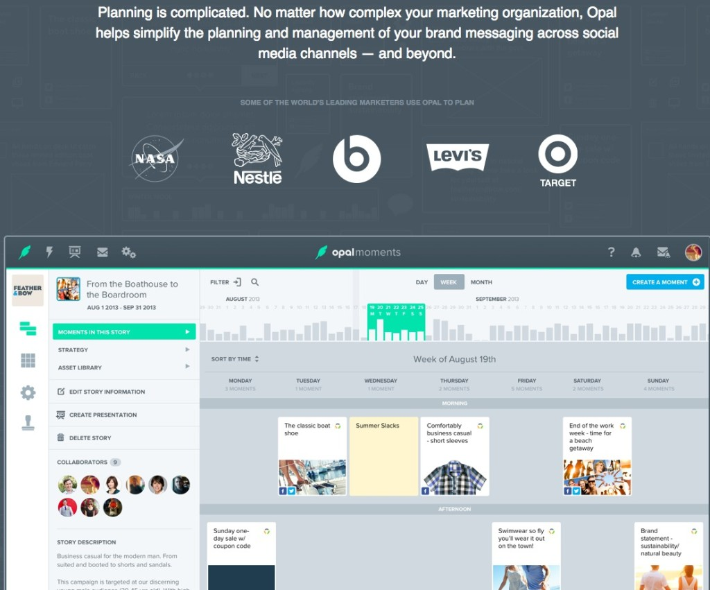 Opal — Collaborative Planning for Brand Marketing Teams