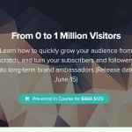 How to Get from 0 to 1 Million Visitors   Growth Supply